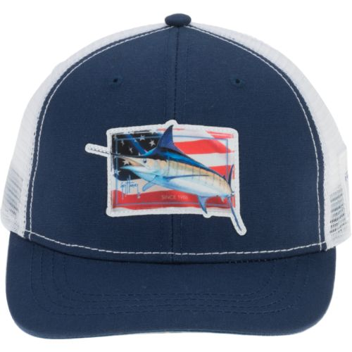 Guy Harvey Men's Prancer Trucker Cap