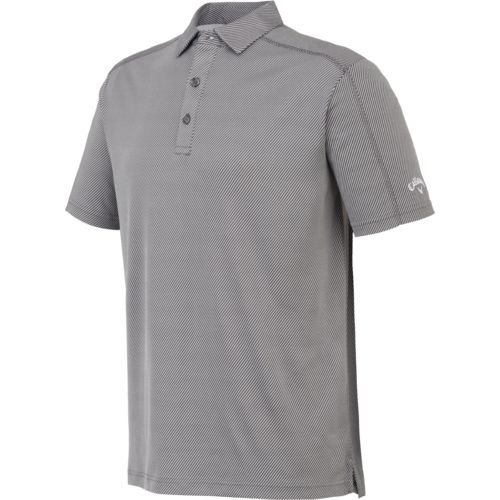 Callaway Men's Performance Golf Short Sleeve Jacquard Polo Shirt - view number 2