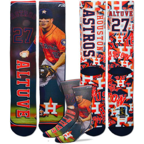 For Bare Feet Unisex Houston Astros Jose Altuve Player Socks