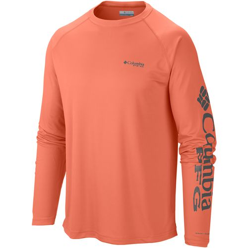 Columbia Sportswear Performance Fishing Gear Terminal Tackle Big & Tall Long Sleeve T-shirt