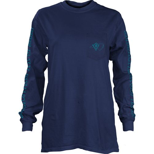 Three Squared Juniors' University of North Carolina at Wilmington Mystic Long Sleeve T-shirt