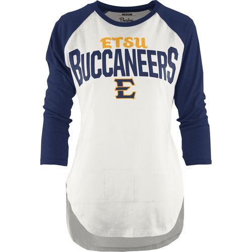 Three Squared Juniors' East Tennessee State University Quin T-shirt