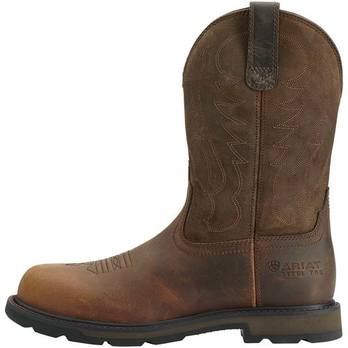 Ariat Men's Groundbreaker Wellington Steel Toe Work Boots