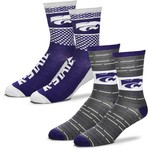 For Bare Feet Men's Kansas State University Father's Day Socks - view number 1