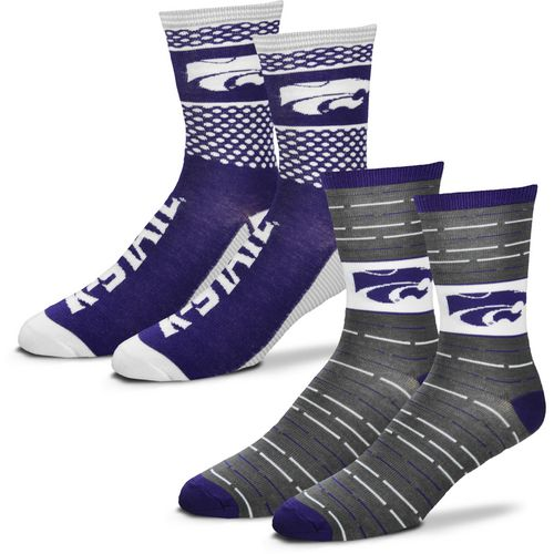 For Bare Feet Men's Kansas State University Father's Day Socks