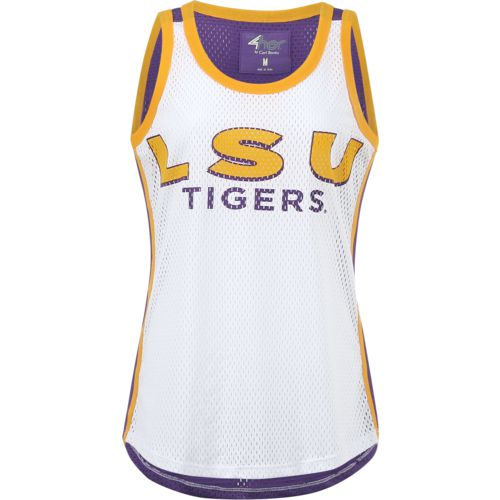 G-III for Her Women's Louisiana State University Opening Day Mesh Tank Top