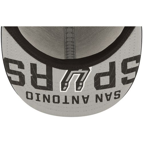New Era Men's San Antonio Spurs 59FIFTY Team On Court Cap - view number 3