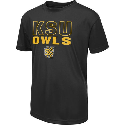 Colosseum Athletics Boys' Kennesaw State University Team Mascot T-shirt
