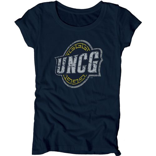 Blue 84 Juniors' University of North Carolina at Greensboro Mascot Soft T-shirt