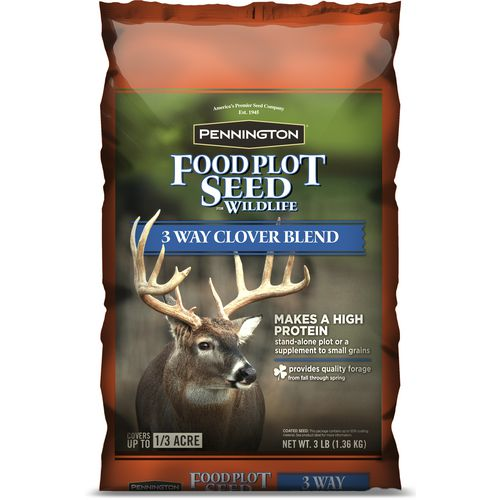 Pennington 3-Way Clover Blend Wildlife Food Plot Seed - Game Feed And Supplements at Academy Sports thumbnail