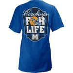 Three Squared Juniors' McNeese State University Team For Life Short Sleeve V-neck T-shirt - view number 1