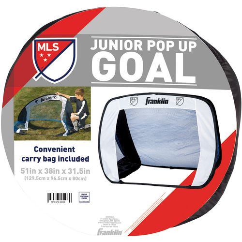 Franklin 3.2 ft x 4.3 ft MLS Junior Pop Up Soccer Goal - view number 2