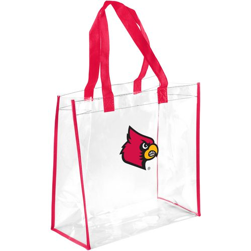 Forever Collectibles University of Louisville Clear Reusable Bag