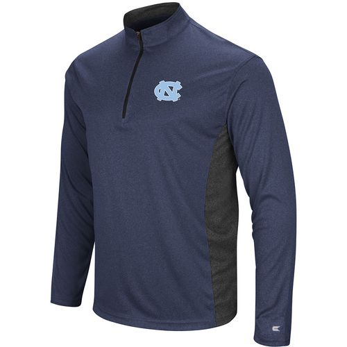 Colosseum Athletics Men's University of North Carolina Audible 1/4 Zip Windshirt