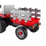 Peg Perego Case IH Lil Tractor and Trailer 6 V Ride-On Vehicle - view number 2
