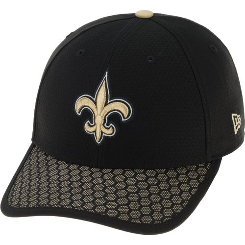 New Era Men's New Orleans Saints Onfield Sideline Team 2-Tone 39THIRTY Cap - view number 2