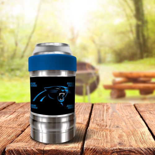 Great American Products Carolina Panthers LOCKER Dynasty Edition 12 oz Vacuum Insulated Can and Bott - view number 2