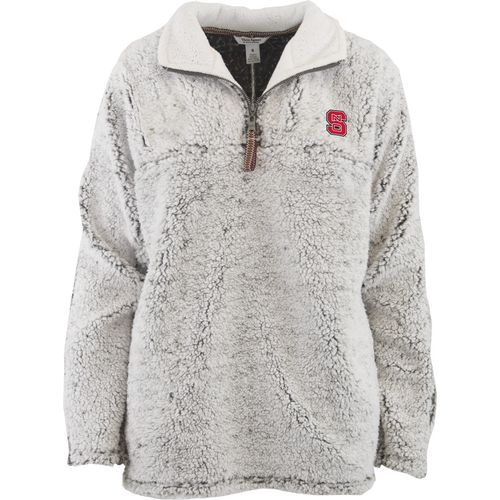 Three Squared Women's North Carolina State University Poodle Pullover Jacket