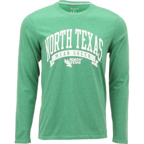 Champion Men's University of North Texas In Pursuit Long Sleeve T-shirt