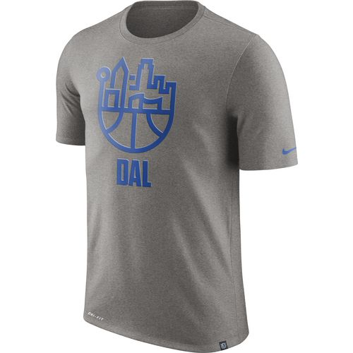 Nike Men's Dallas Mavericks Basketball Cityscape T-shirt