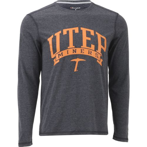 Champion Men's University of Texas at El Paso In Pursuit Long Sleeve T-shirt