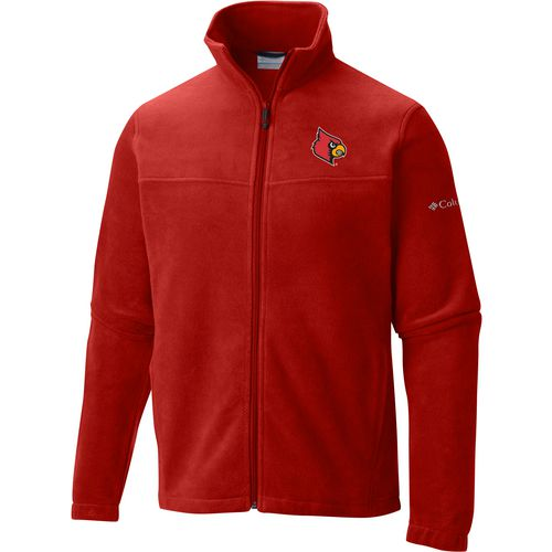 Columbia Sportswear Men's University of Louisville Flanker Full Zip Fleece