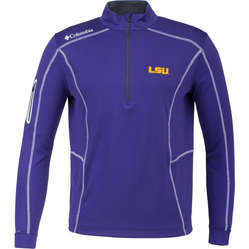 Columbia Sportswear Men's Louisiana State University Shotgun 1/4 Zip Pullover