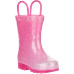 Austin Trading Co. Toddler Girls' Lighted PVC Glitter Boots - view number 2