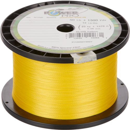 PowerPro High-Vis Yellow Braided Line - view number 1