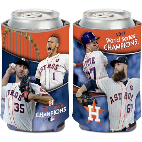 WinCraft Astros 2017 World Series Champions Players Can Cooler