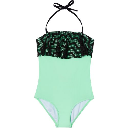 O'Rageous Girls' Endless Crochet 1-Piece Swimsuit