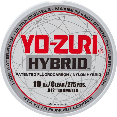 Display product reviews for Yo-Zuri Hybrid 275 yds Fishing Line