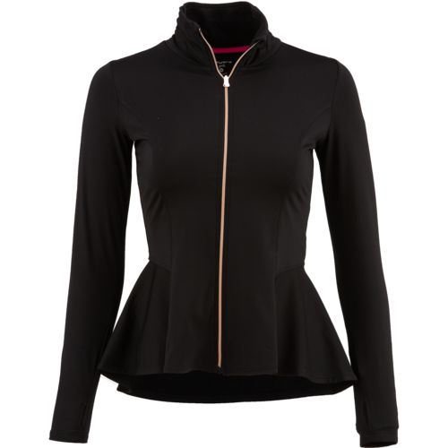 Layer 8 Girls' Full Zip Peplum Jacket
