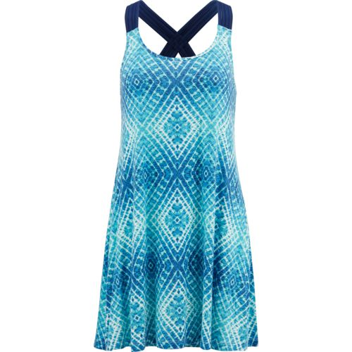 Porto Cruz Women's Macrame Back Cover-Up Tank Dress