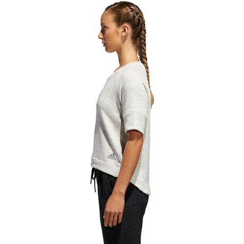 adidas Women's S2S Short Sleeve Crop Top - view number 7
