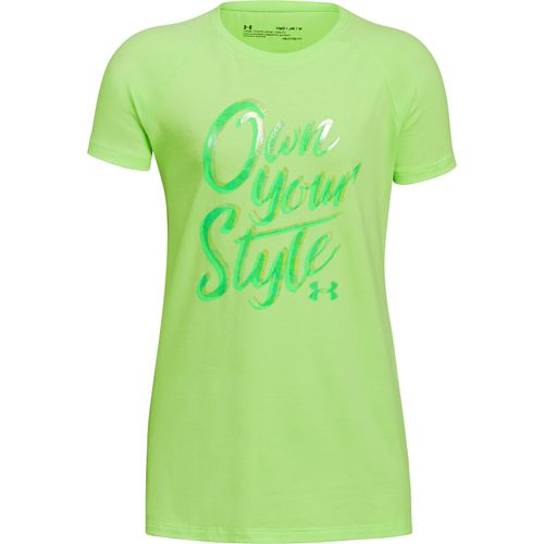 Under Armour Girls' Own Your Style T-shirt