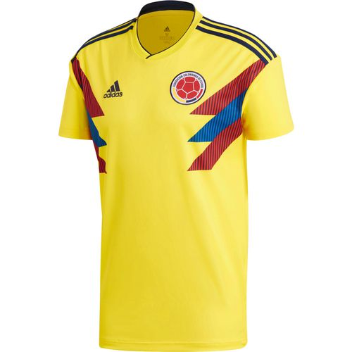 adidas Men's 2018 Colombia Home Soccer Jersey