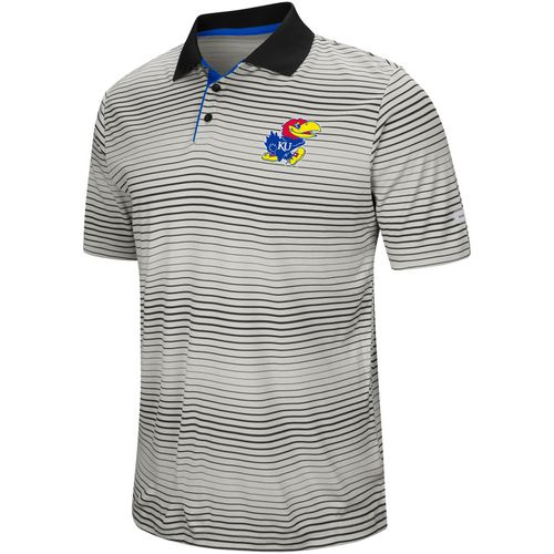 Colosseum Athletics Men's University of Kansas Lesson Number One Polo Shirt