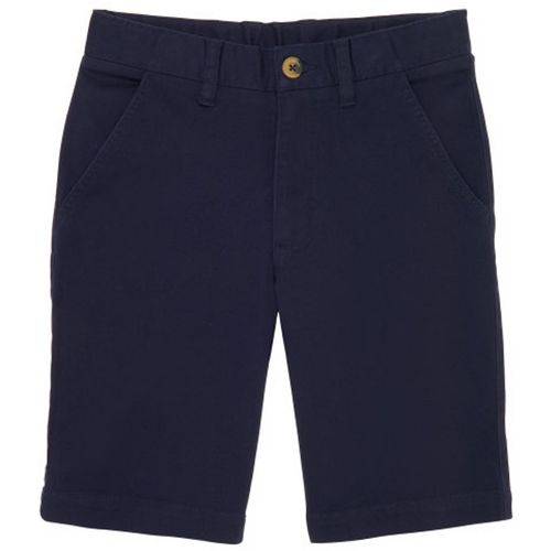 French Toast Boys' Flat Font Stretch Shorts