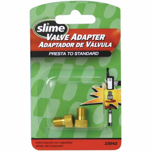 Slime Valve Adapters Presta to Standard 2-Pack