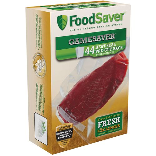 FoodSaver GameSaver® 1 qt. Precut Vacuum Packaging Bags 44-Pack - view number 1