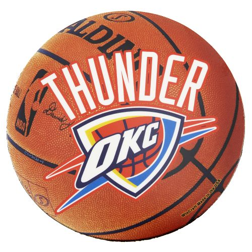WinCraft Oklahoma City Thunder 4' Indoor/Outdoor Magnet
