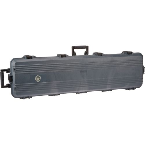 Game Winner  GUN GUARD  Double-Scoped Rifle Case with Wheels