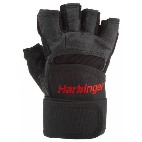 Image for Harbinger Pro WristWrap® Weightlifting Gloves from Academy