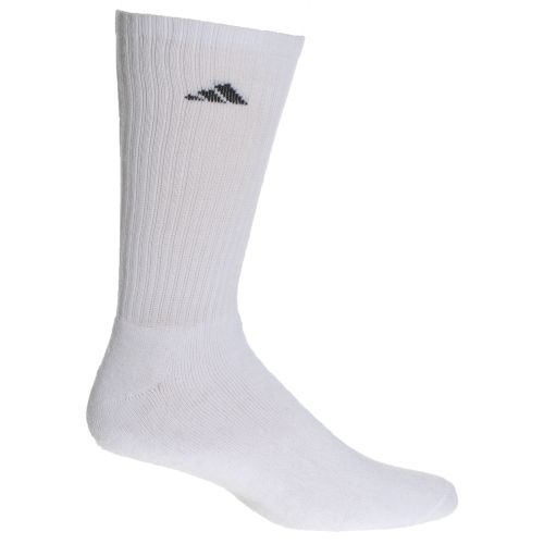 adidas Men's climalite Crew Socks 6 Pack