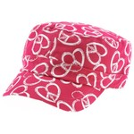 BCG™ Girls' Peace Heart Print Cadet Hat