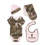 Browning Infants' Camo 4-Piece Baby Set
