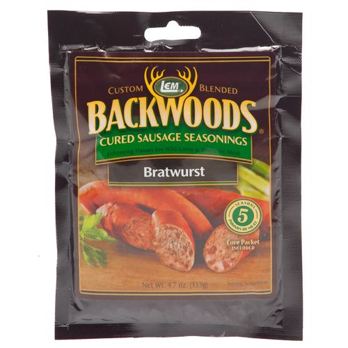 Display product reviews for LEM Backwoods Cured Bratwurst Seasoning