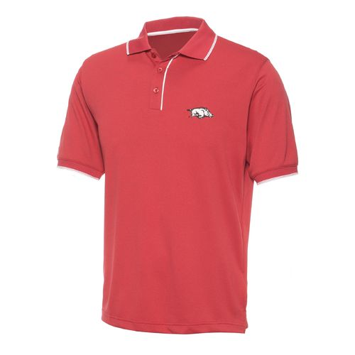 Antigua Men's University of Arkansas Elite Polo Shirt