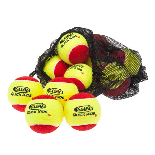 Gamma Quick Kids' 36 Tennis Balls 12-Pack